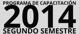 Programa de Capacitación 2013 - Segundo Semestre